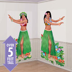 Add-on scenesetter 2 Hula Dancers