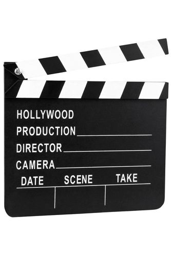 Filmklapper Hollywood 18x20 cm