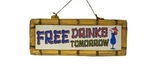 Wandbord FREE DRINKS