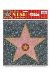 Sticker ster WALK OF FAME 30x38 cm