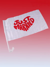 "Autovlag ""Just Married"" per 2 SALE"