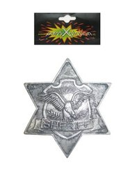 Sheriffster metaal + pin