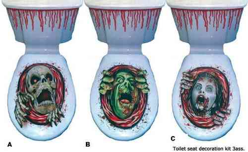 Decoratieset Toilet Man B