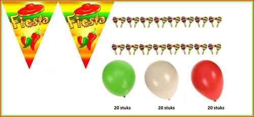Fiesta party set 3