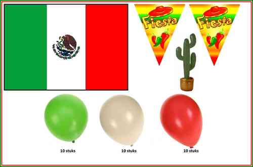 Mexico party set 4