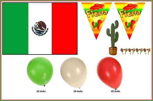 Mexico party set 9