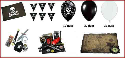 Piraten party set 8