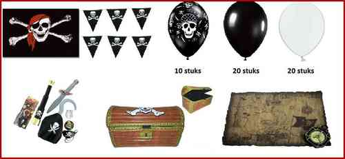 Piraten party set 16