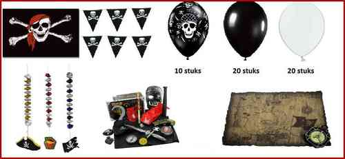 Piraten party set 18