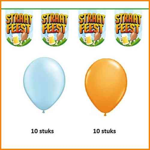 Straatfeest party set 1