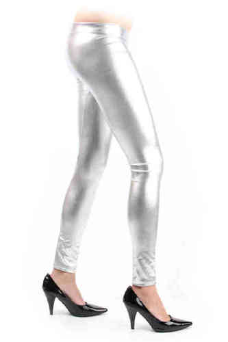 Legging zilver mt. L/XL