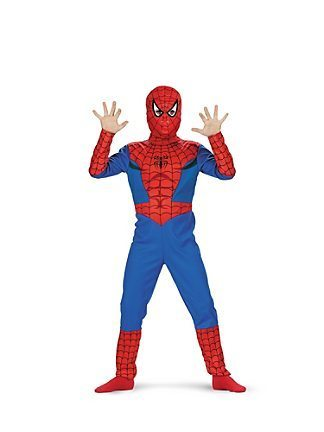 Spiderman Classic Dress Up Set age 7/8 years