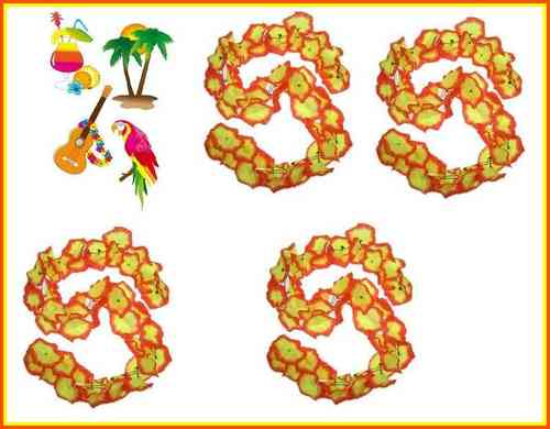 Hawai Flower party set 2