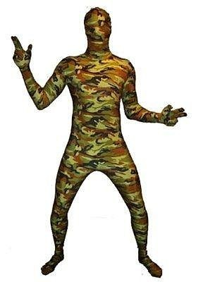 Morphsuits army print mt XXL