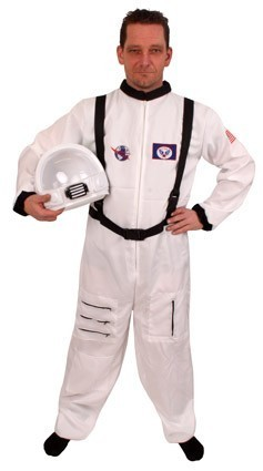 Astronaut overall wit mt.54-56
