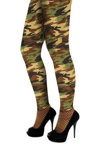 Legging camouflage volw.