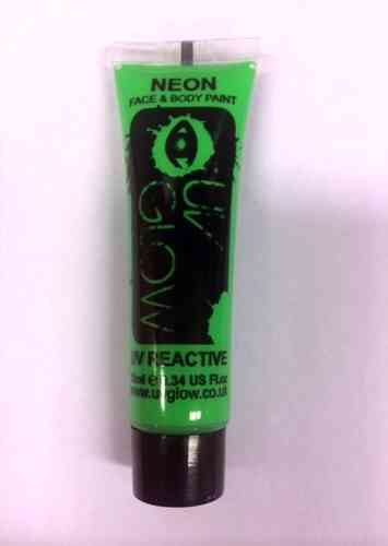 Neon Face & Body Paint 10 ml Groen
