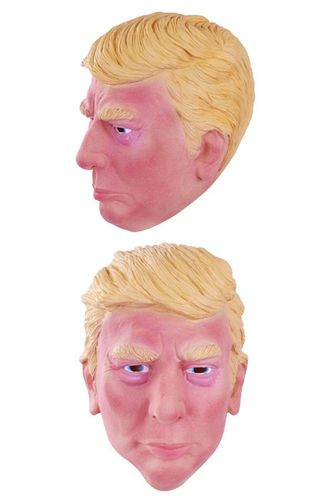 Masker Donald Trump latex